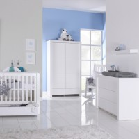 Babykamer Bright Wit Mat