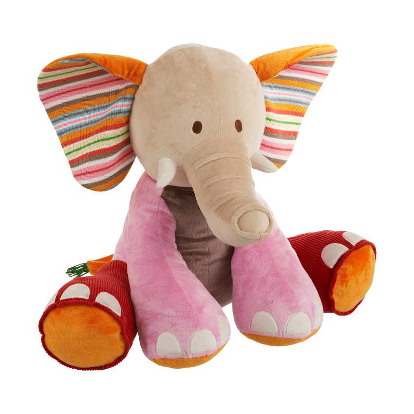 Happy Horse - Olifant Gaby - Knuffel Groot