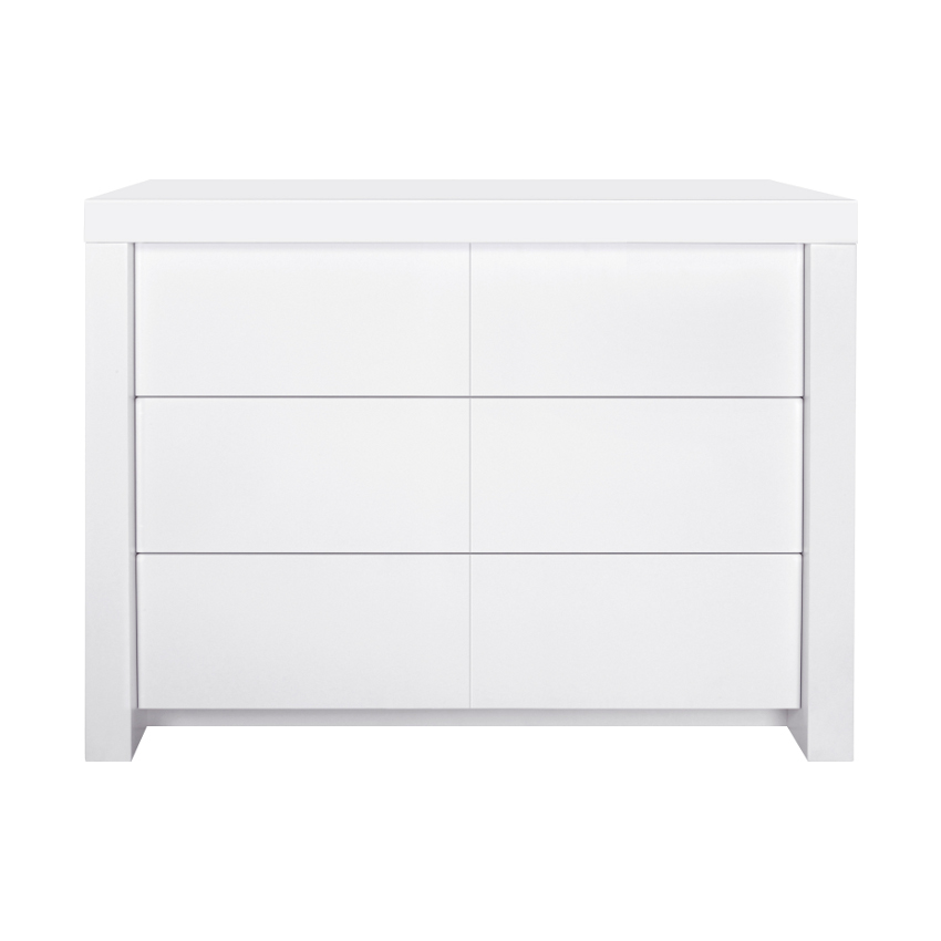 wit mat commode 3 laden kidsmill € 399 00 bright wit mat commode ...