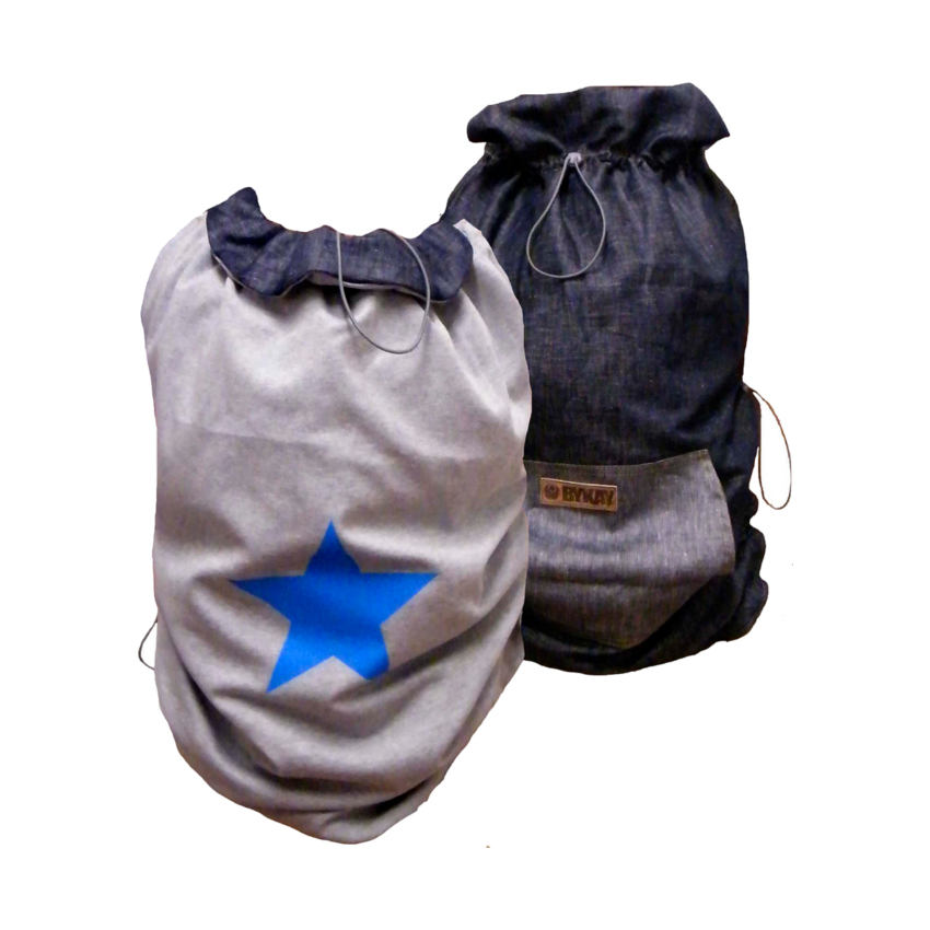 Bykay Cover Classic Dark Jeans / Star Turquoise