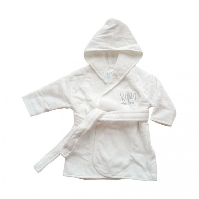 BamBam Bathrobe Silver mt 62/68