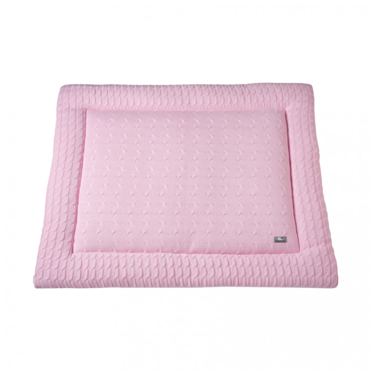 Baby's Only Boxkleed Kabel Uni Baby Roze 75 x 95 cm