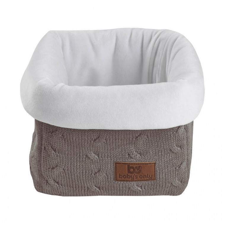 Baby`s Only Commodemandje Kabel Uni Taupe