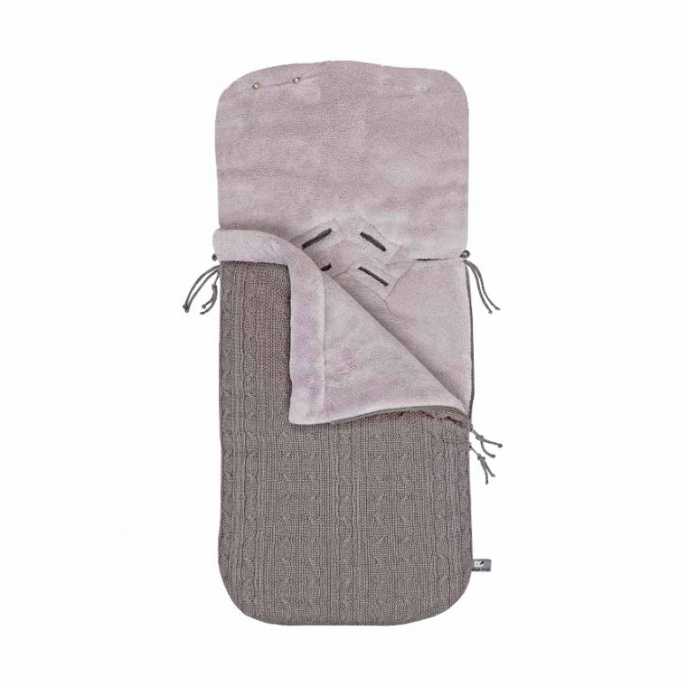 Baby's Only Voetenzak Kabel Taupe