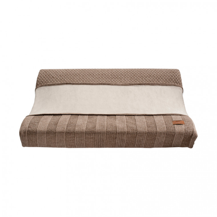 Baby's Only Waskussenhoes Stoer Korrel Rib Taupe