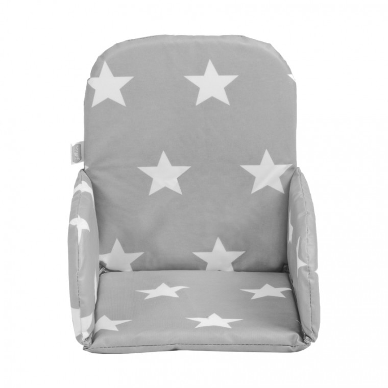 Jollein Stoelverkleiner Little Star Dark Grey