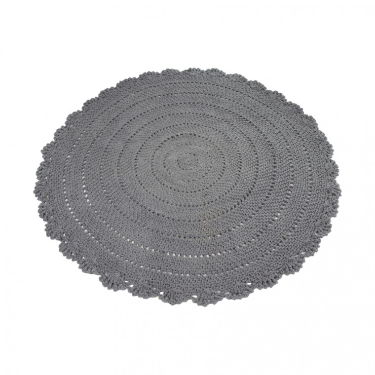 Kidsdepot Vloerkleed Roundy Grey