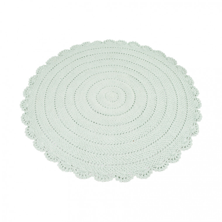 Kidsdepot Vloerkleed Roundy Mint
