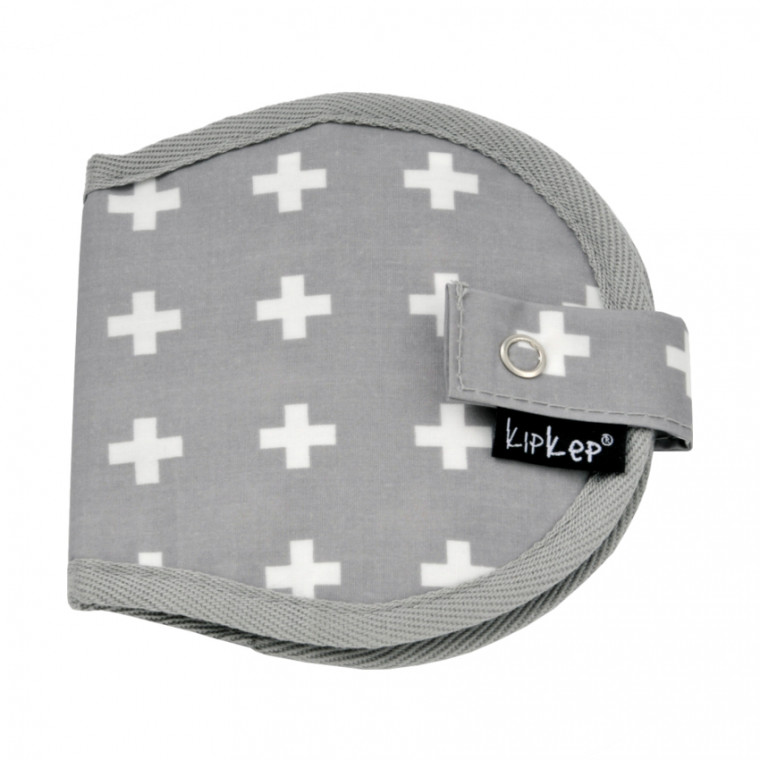 Kipkep Napper Borstkompressen Etui Crossy Grey