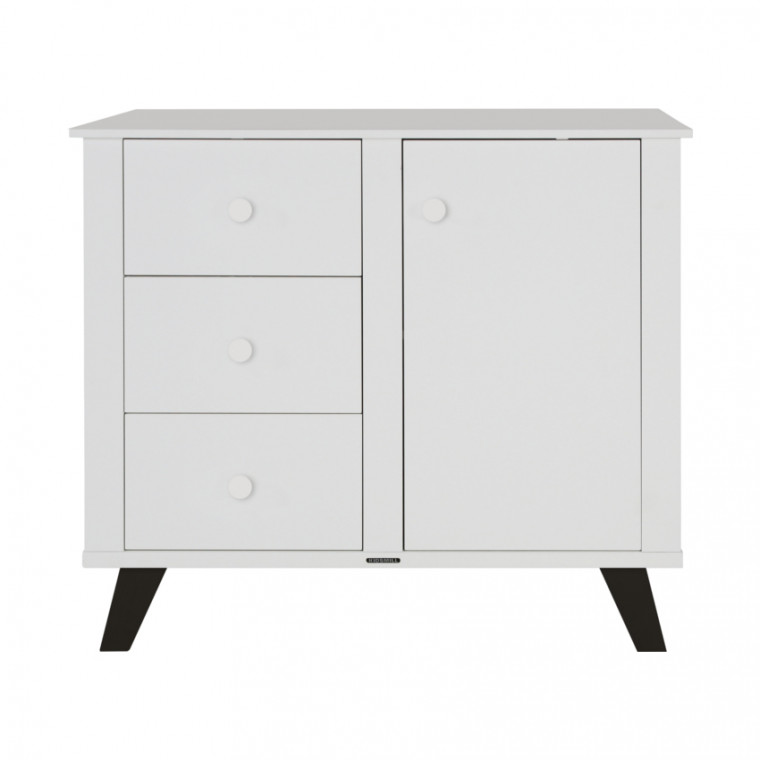 Lars Commode Wit / Zwart