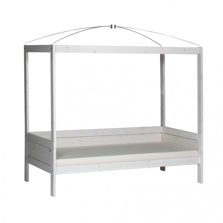 Life Time Hemelbed Luxe Whitewash
