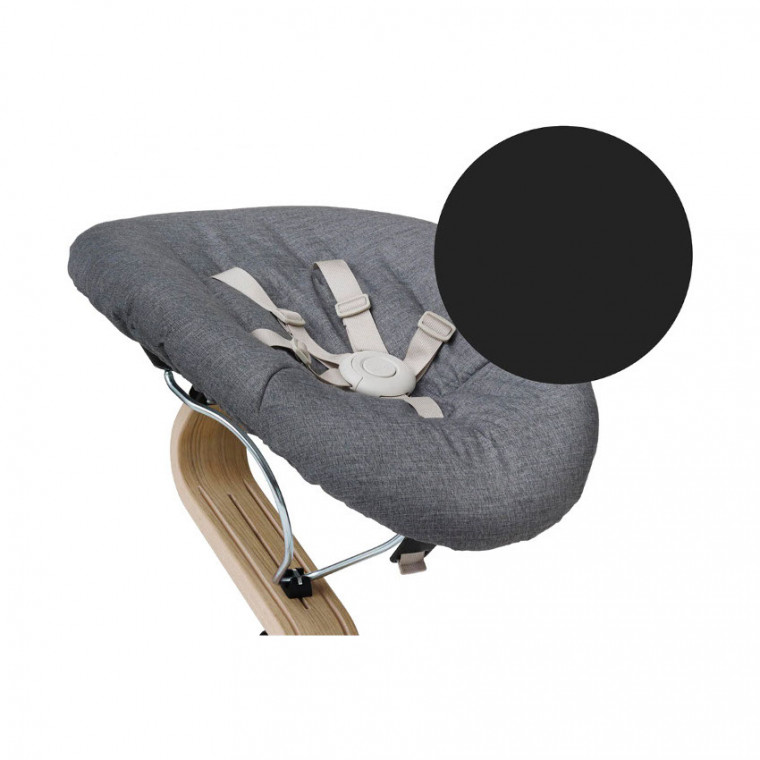 Nomi Baby Relax Black - Dark Grey / Sand