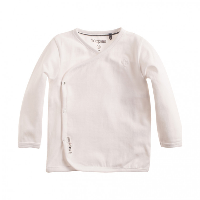 Noppies Longsleeve Little White Mt 44 voorkant