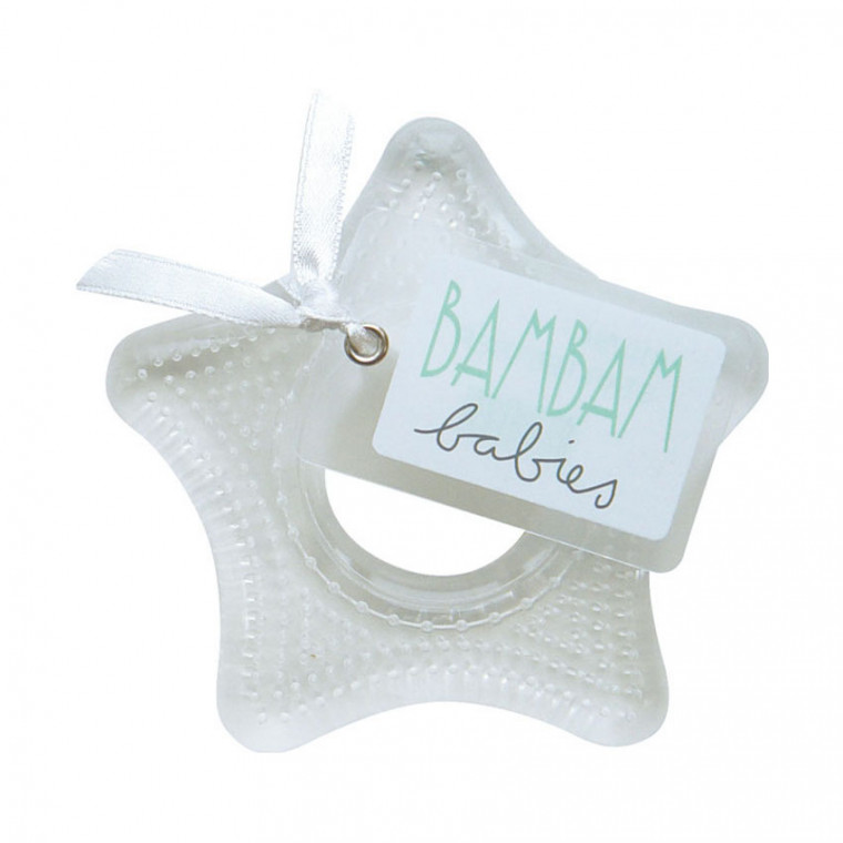 BamBam Teether Transparant