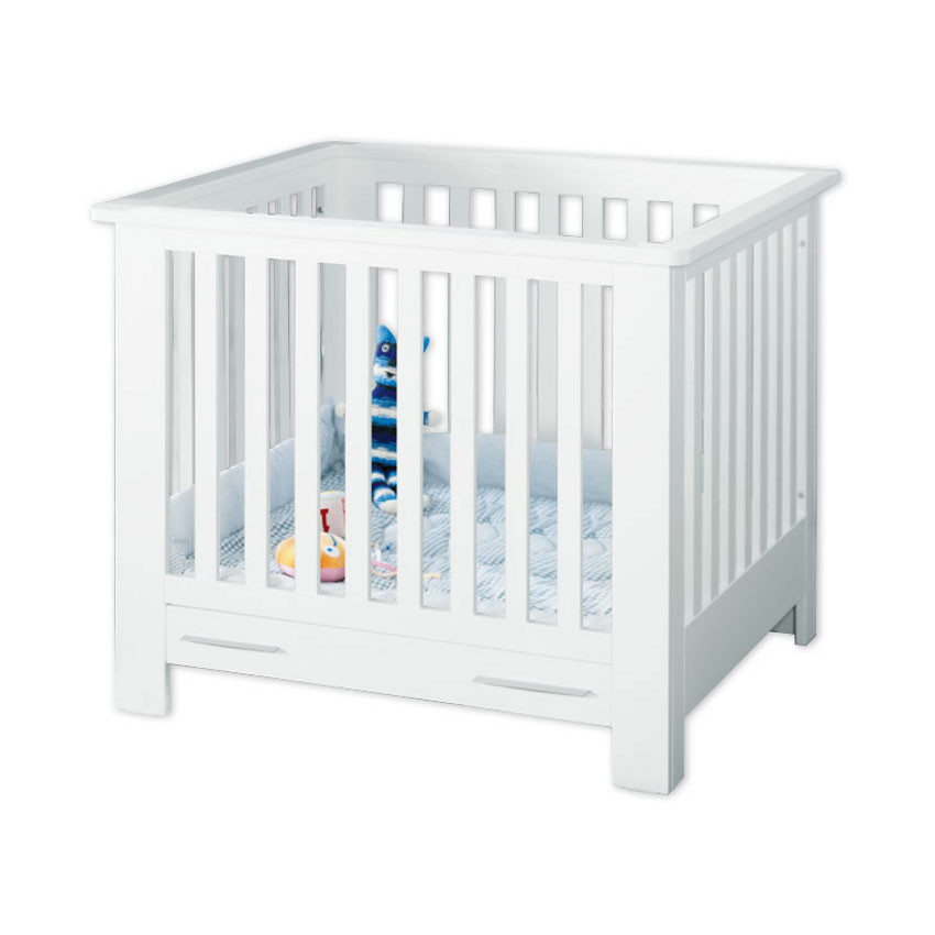 Coming Kids Box Basic White Met Lade : Babypark