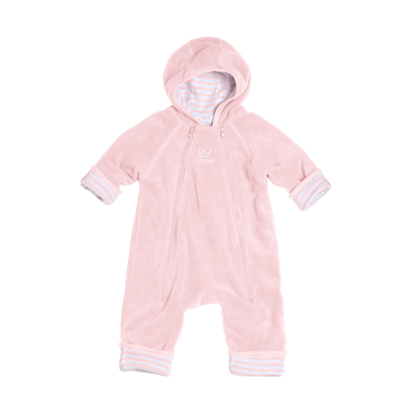 Red Castle Zip' Up Pakje Pink / Pink White Stripes Mt. 1
