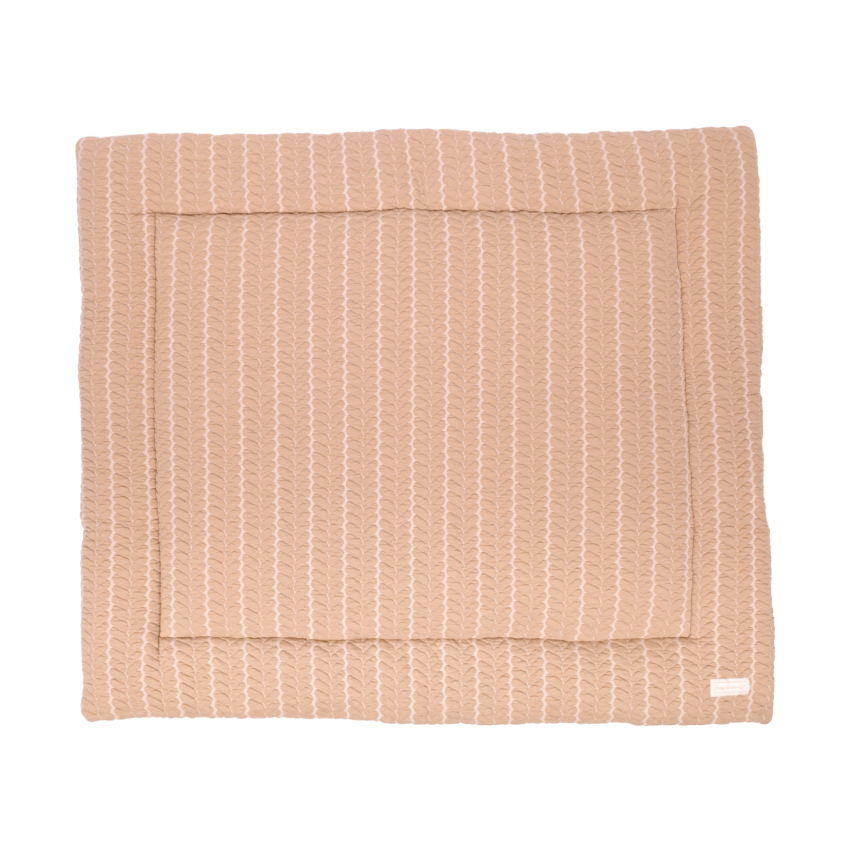 Baby Anne-cy Basel Boxkleed Kabel Beige 80 X 100 Cm