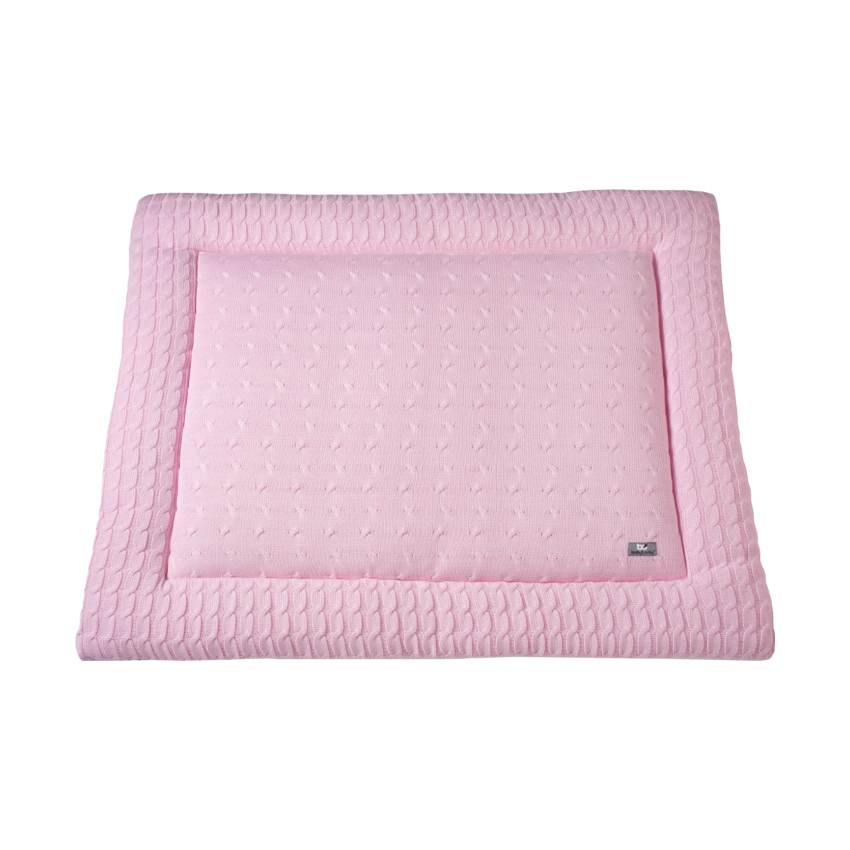 Baby´s Only Boxkleed Kabel Uni Baby Roze 75 X 95 Cm