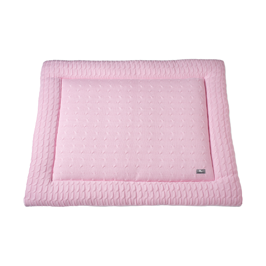 Baby´s Only Boxkleed Kabel Uni Baby Roze 85 X 100 Cm