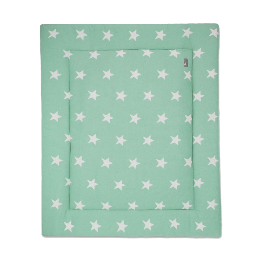 Baby´s Only Boxkleed Ster Mint / Wit 75 X 95 Cm