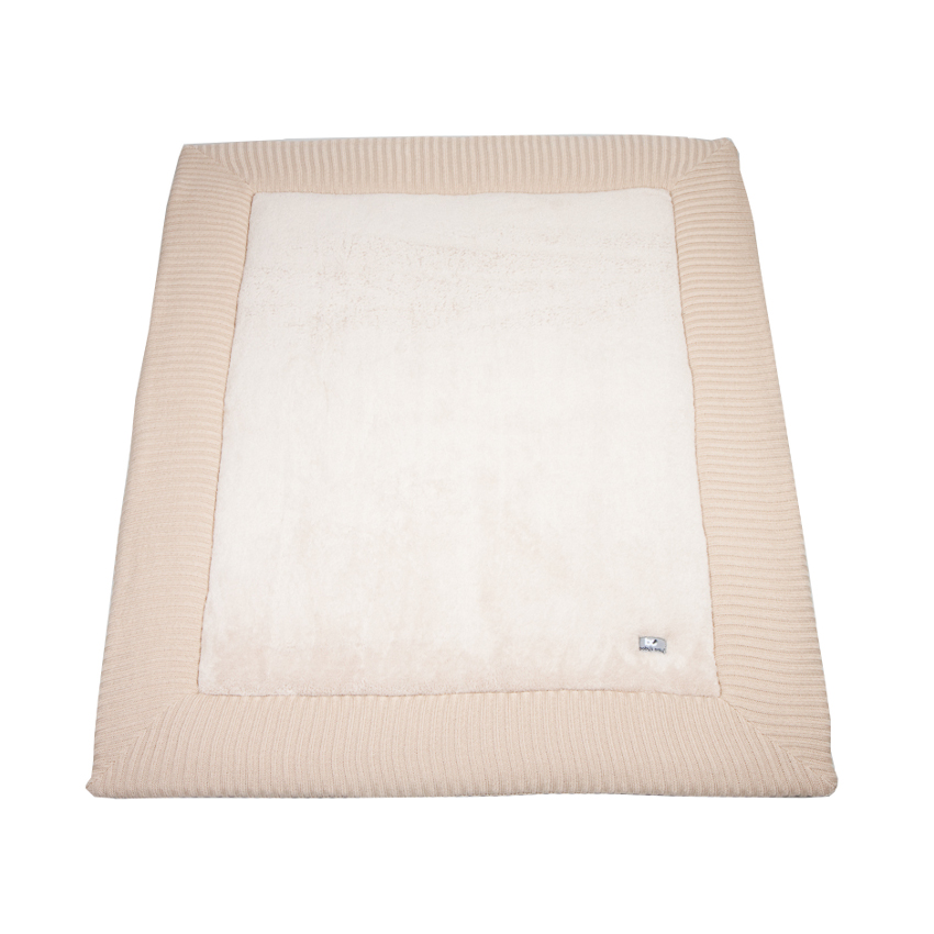 Baby´s Only Boxkleed Teddy Rib Beige 80 X 95 Cm