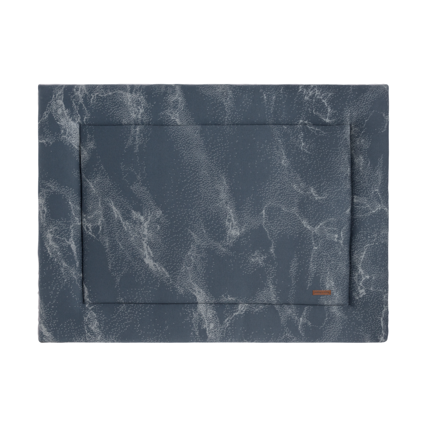 Baby's Only Marble Boxkleed Granit - Grijs 75 x 95 cm