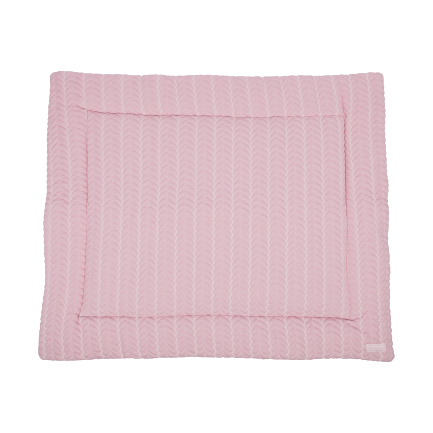 Baby Anne-cy Butterfly Boxkleed Old Pink 80 X 100 Cm