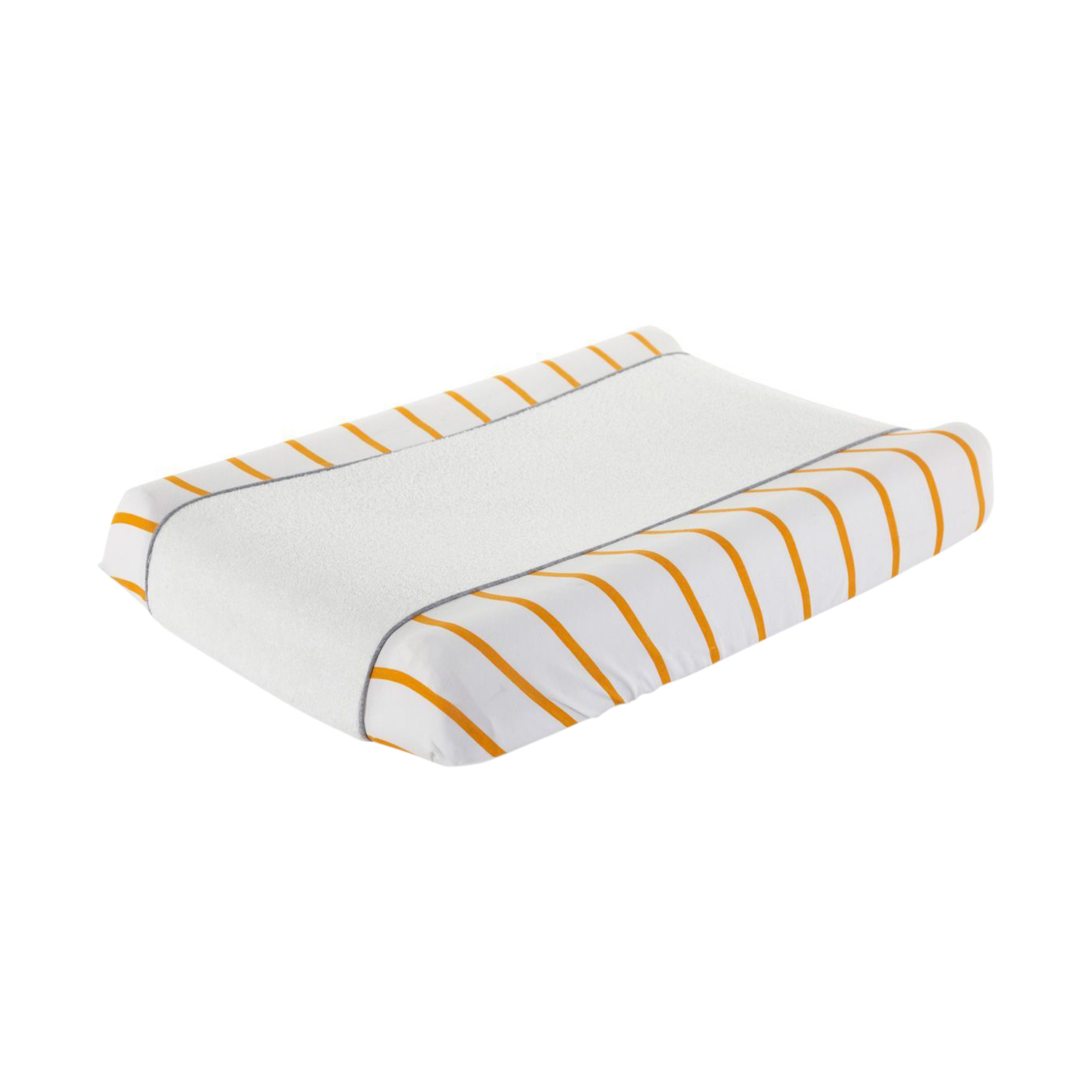 Childhome Teddy Waskussenhoes Ochre Stripes