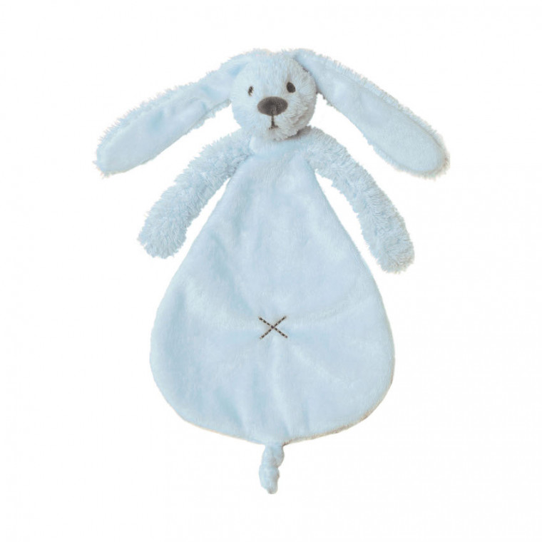 Happy Horse Rabbit Richie Knuffeldoekje Blue