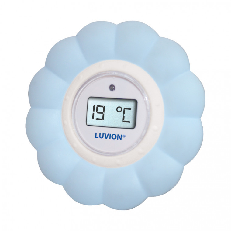 Luvion Bad / Kamer Thermometer Blauw