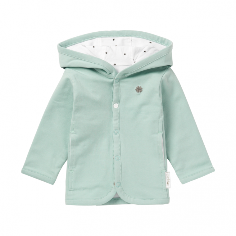 Noppies Nusco Vest Grey Mint
