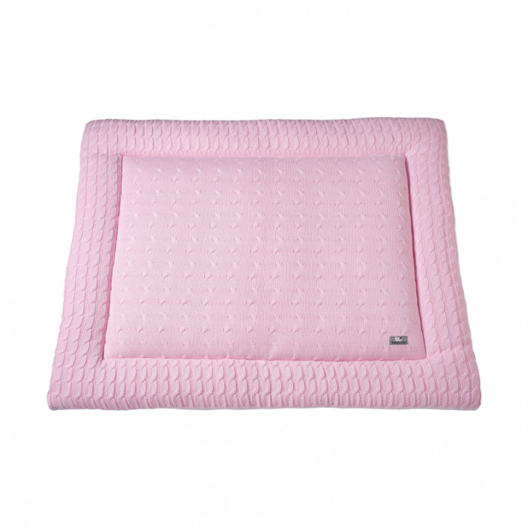 Baby's Only Boxkleed Kabel Uni Baby Roze 85 x 100 cm