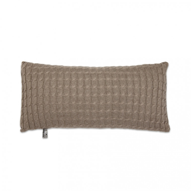 Baby's Only Kussen Kabel Uni Taupe 60 x 30 cm