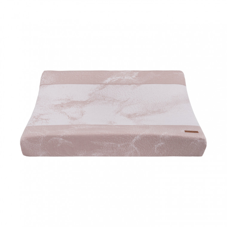 Baby's Only Marble Waskussenhoes Oud Roze / Classic Roze