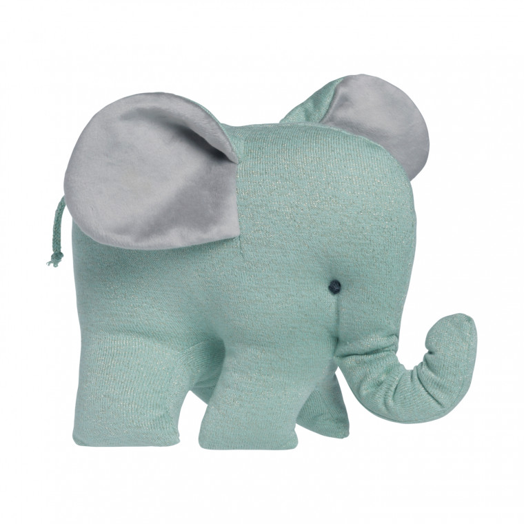 Baby's Only Olifant Sparkle Knuffel Goud / Mint Mêlee