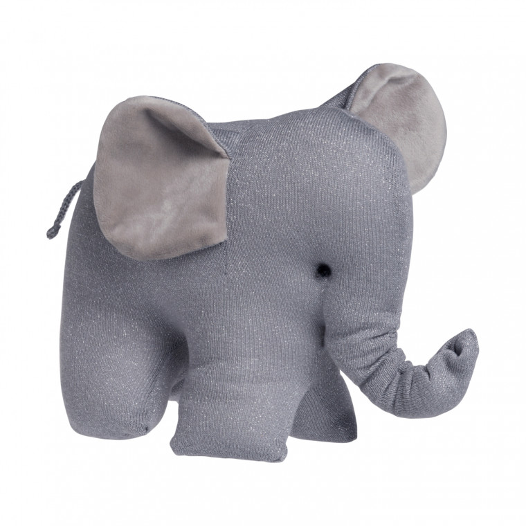 Baby's Only Olifant Sparkle Knuffel Zilvergrijs Mêlee