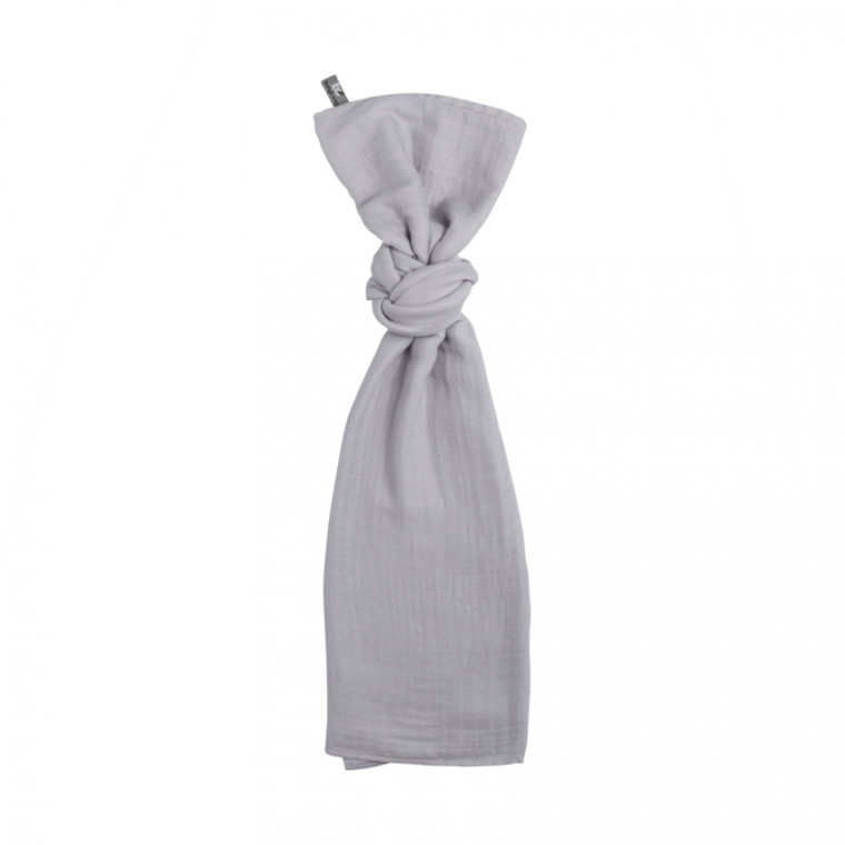 Baby's Only Swaddle 120 x 120 cm Zilvergrijs