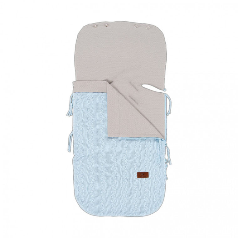 Baby's Only Zomer Voetenzak Cable Baby Blue