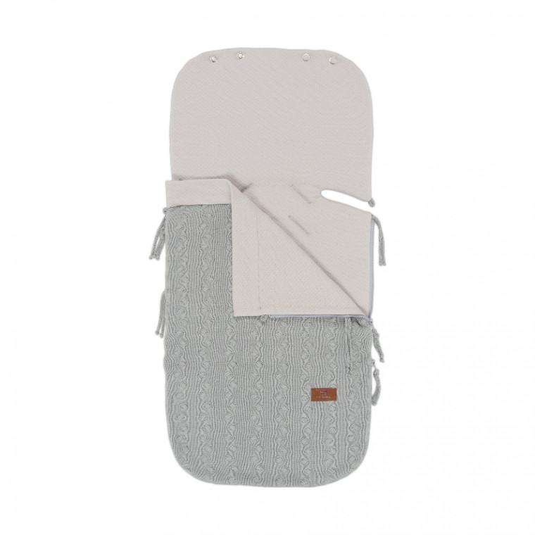 Baby's Only Zomer Voetenzak Cable Grey