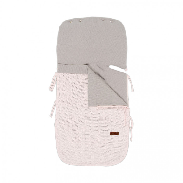 Baby's Only Cable Zomer Voetenzak Baby Pink