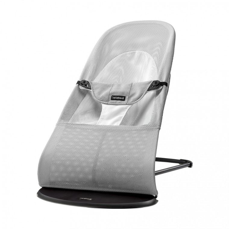 BabyBjorn Balance Soft Mesh Silver / Wit