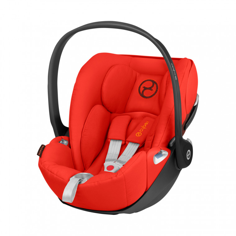 Cybex Cloud Z i-Size Baby Autostoeltje Burnt Red