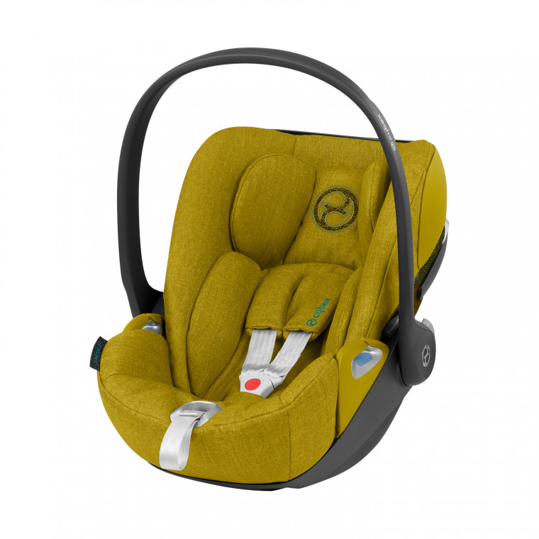 Cybex Cloud Z i-Size Plus Baby Autostoeltje Mustard Yellow