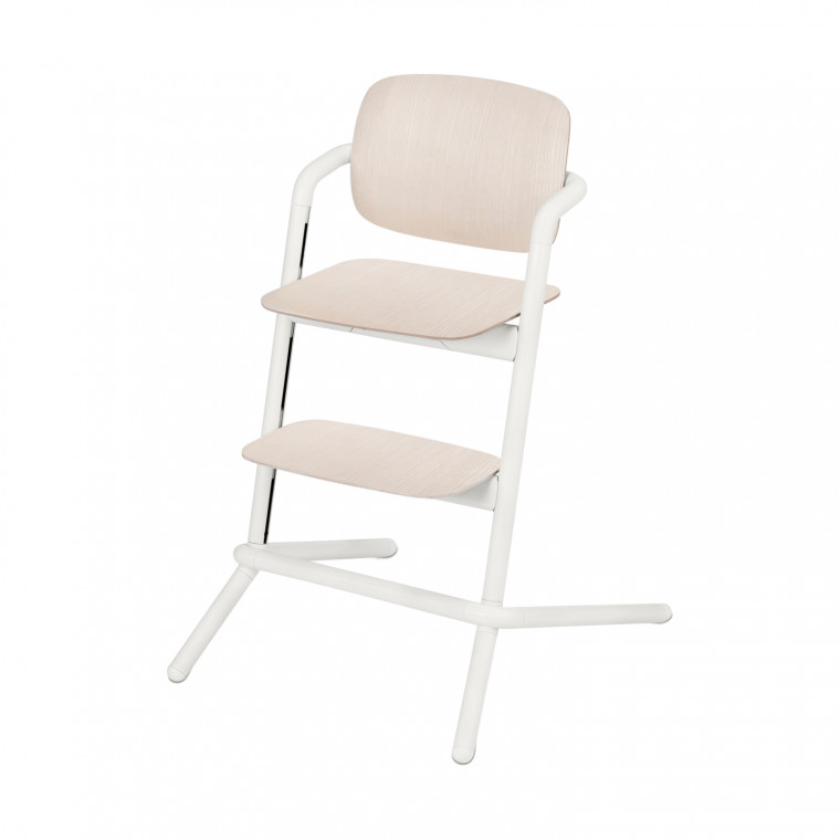 Cybex Lemo Wood Kinderstoel Porcelaine White