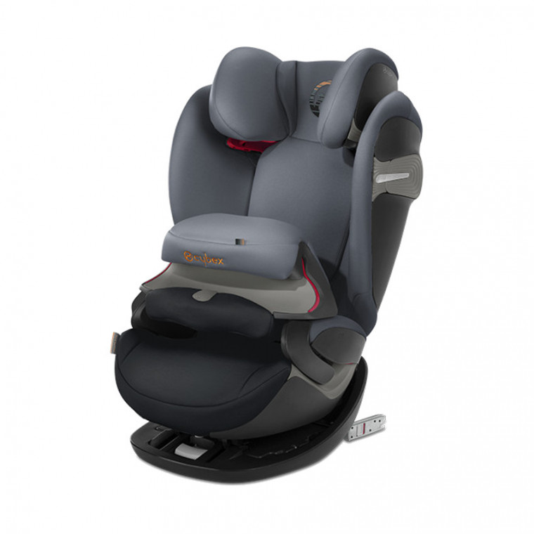 Cybex Pallas S-Fix Autostoeltje Pepper Black