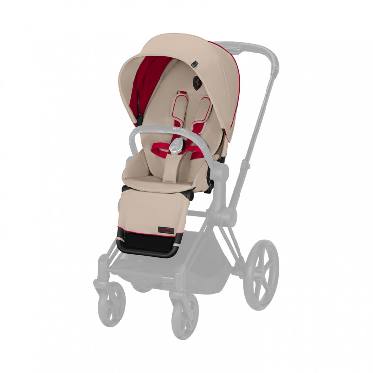 Cybex Priam Seat Pack Silver Grey