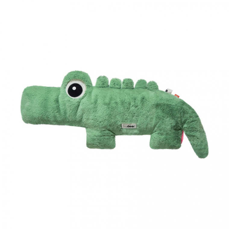 Done by Deer Croco Pluche Knuffel Green Large