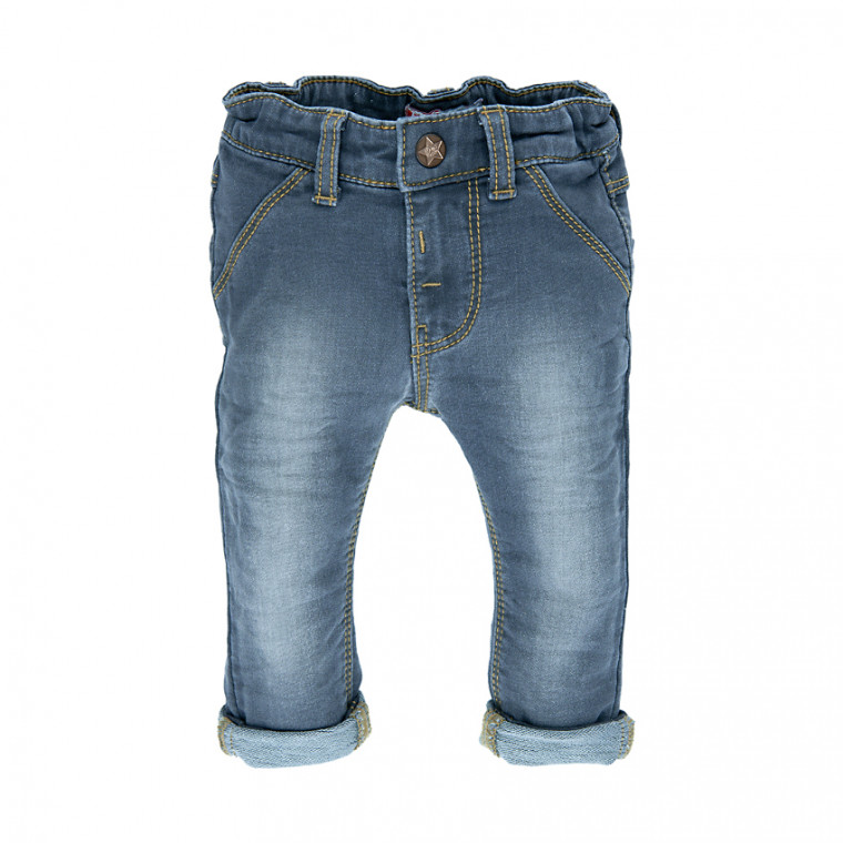 Feetje Broekje Light Blue Denim Mt 74