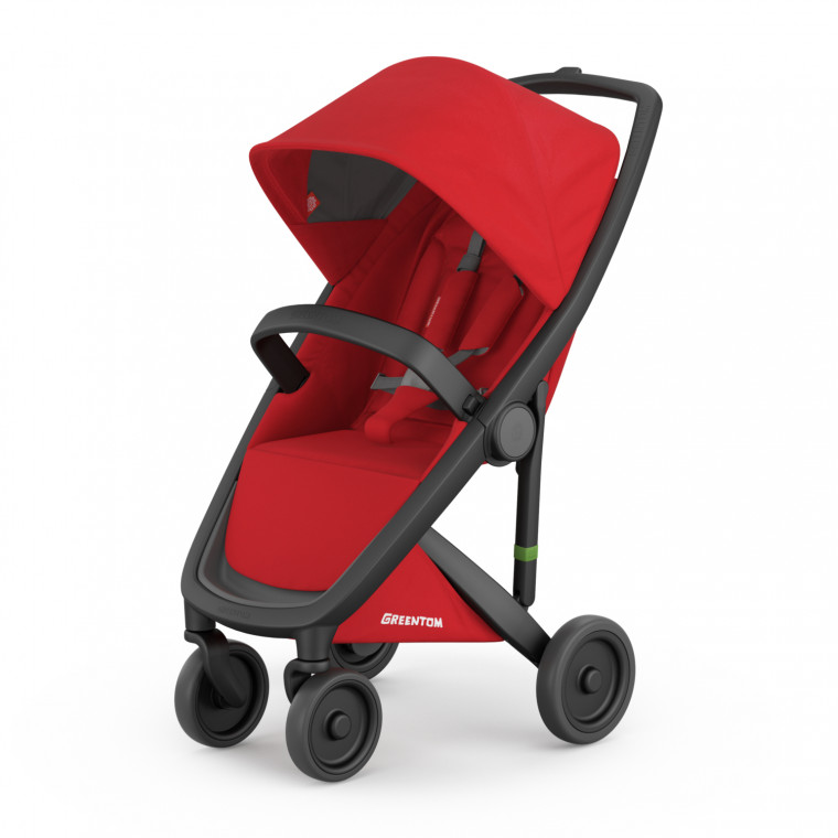 Greentom Classic Buggy Black - Red