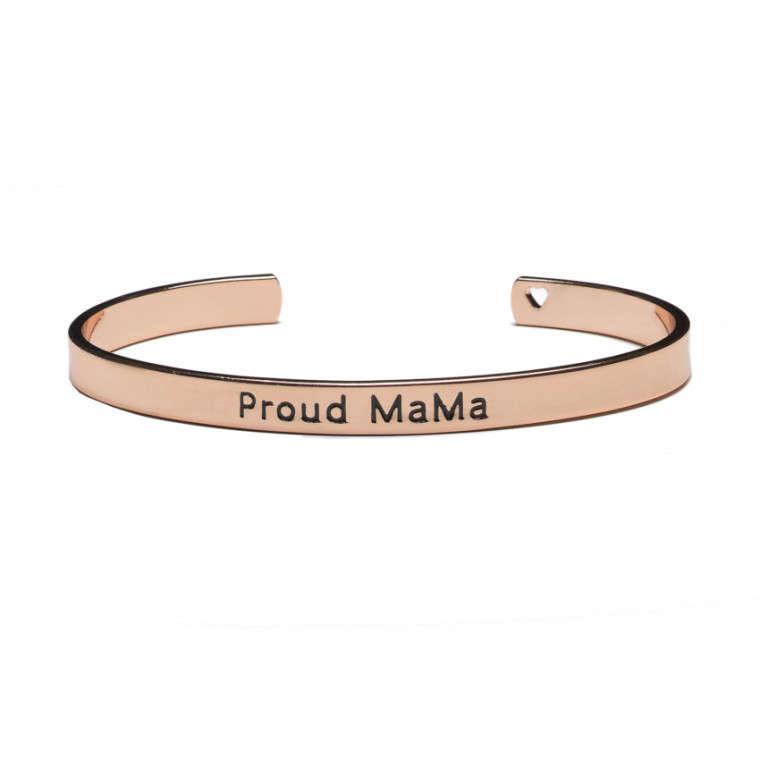 Proud MaMa Bangle Armband Roze